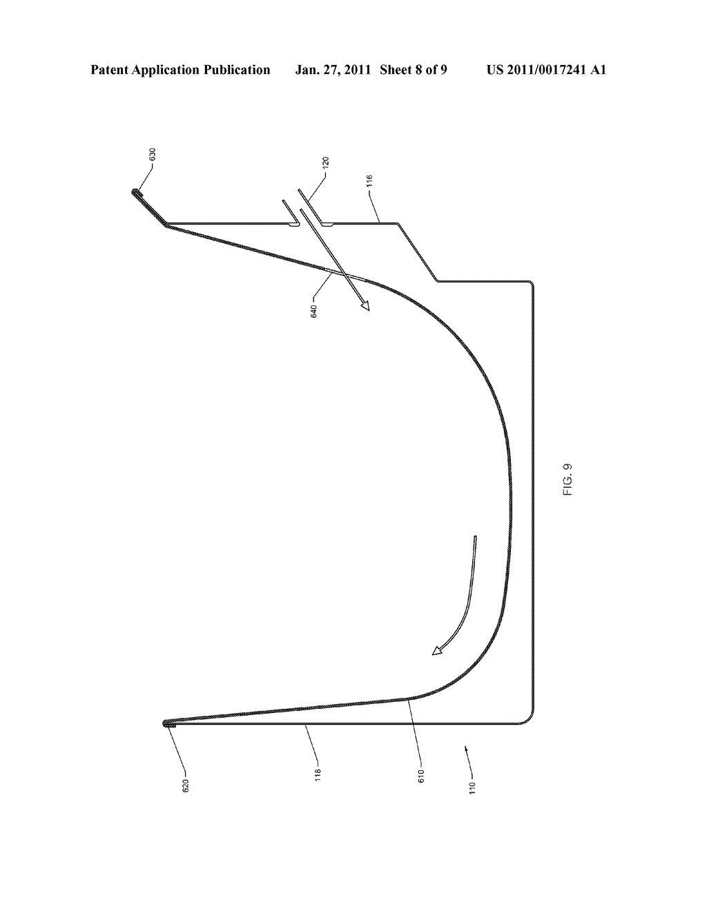 FLUID FLOW STRUCTURE AND METHOD OF USE FOR CONTINUOUS MOTION WASHING MACHINE - diagram, schematic, and image 09