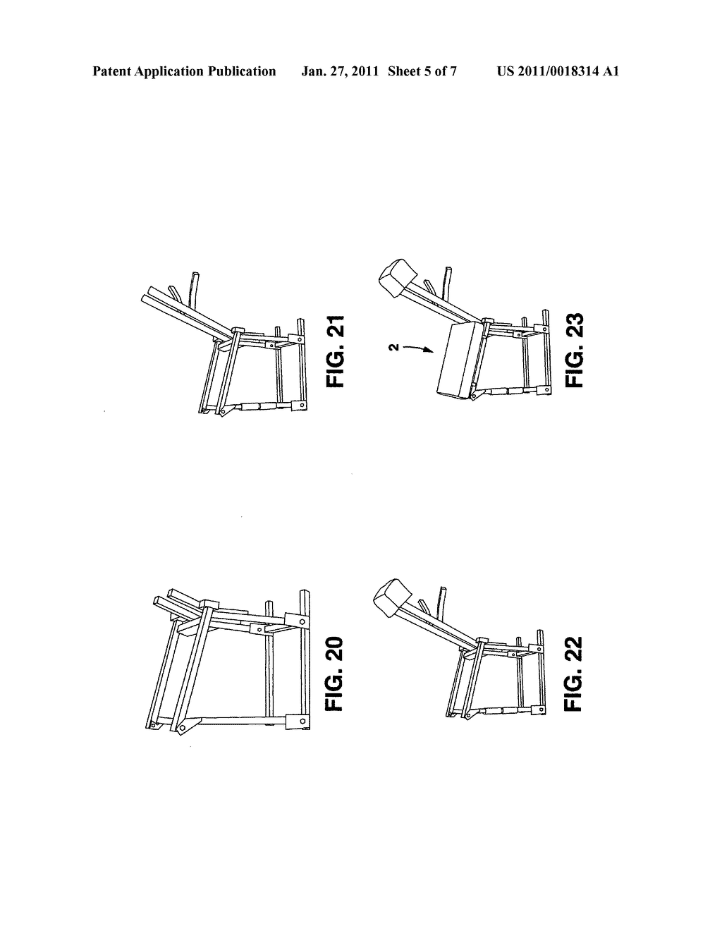 Multiple use chair - diagram, schematic, and image 06