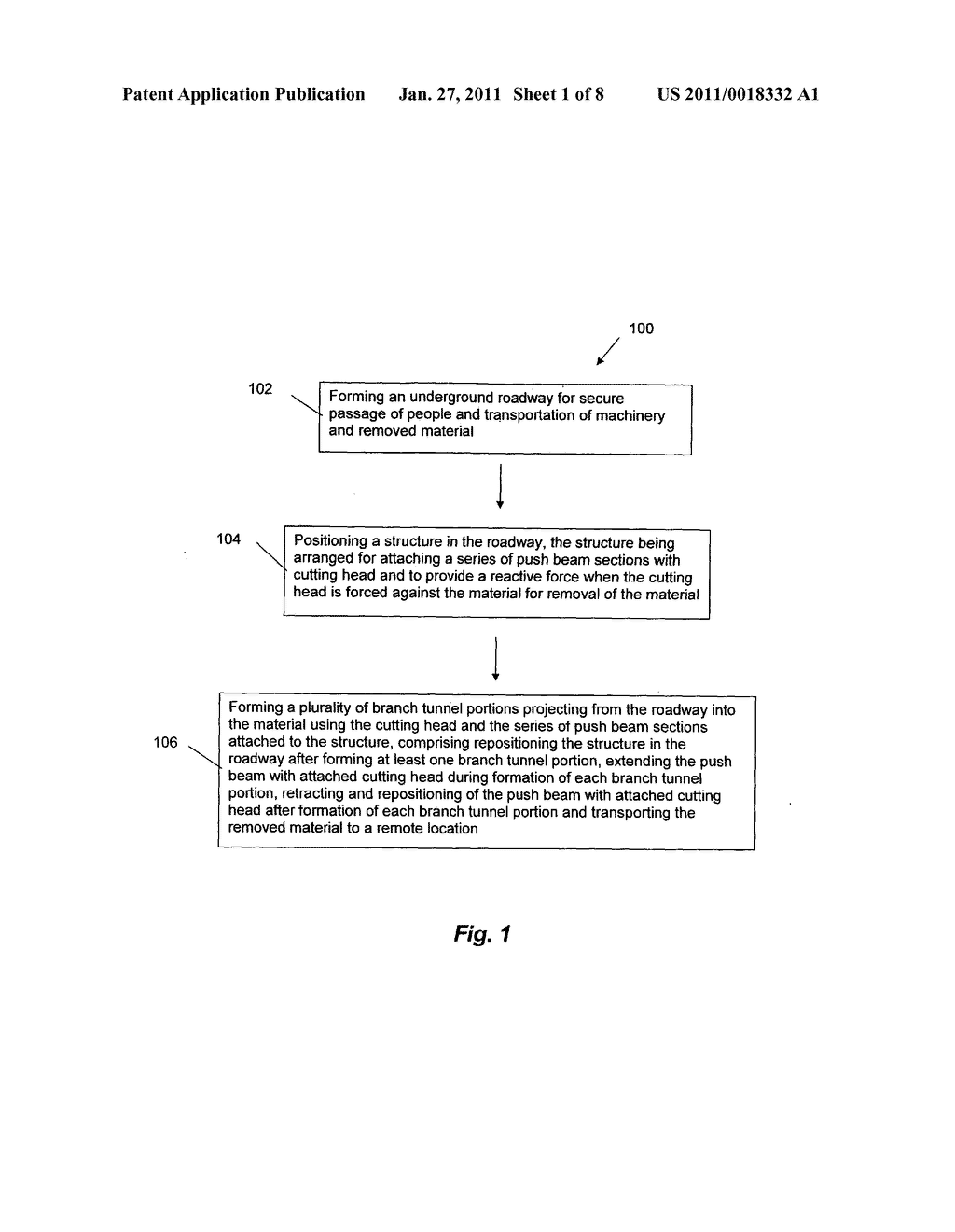 Method and Apparatus for Mining a Material in an Underground Environment - diagram, schematic, and image 02
