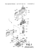 STEP-BY-STEP MOTOR ABLE TO CARRY OUT UP-AND-DOWN TRANSMISSION diagram and image