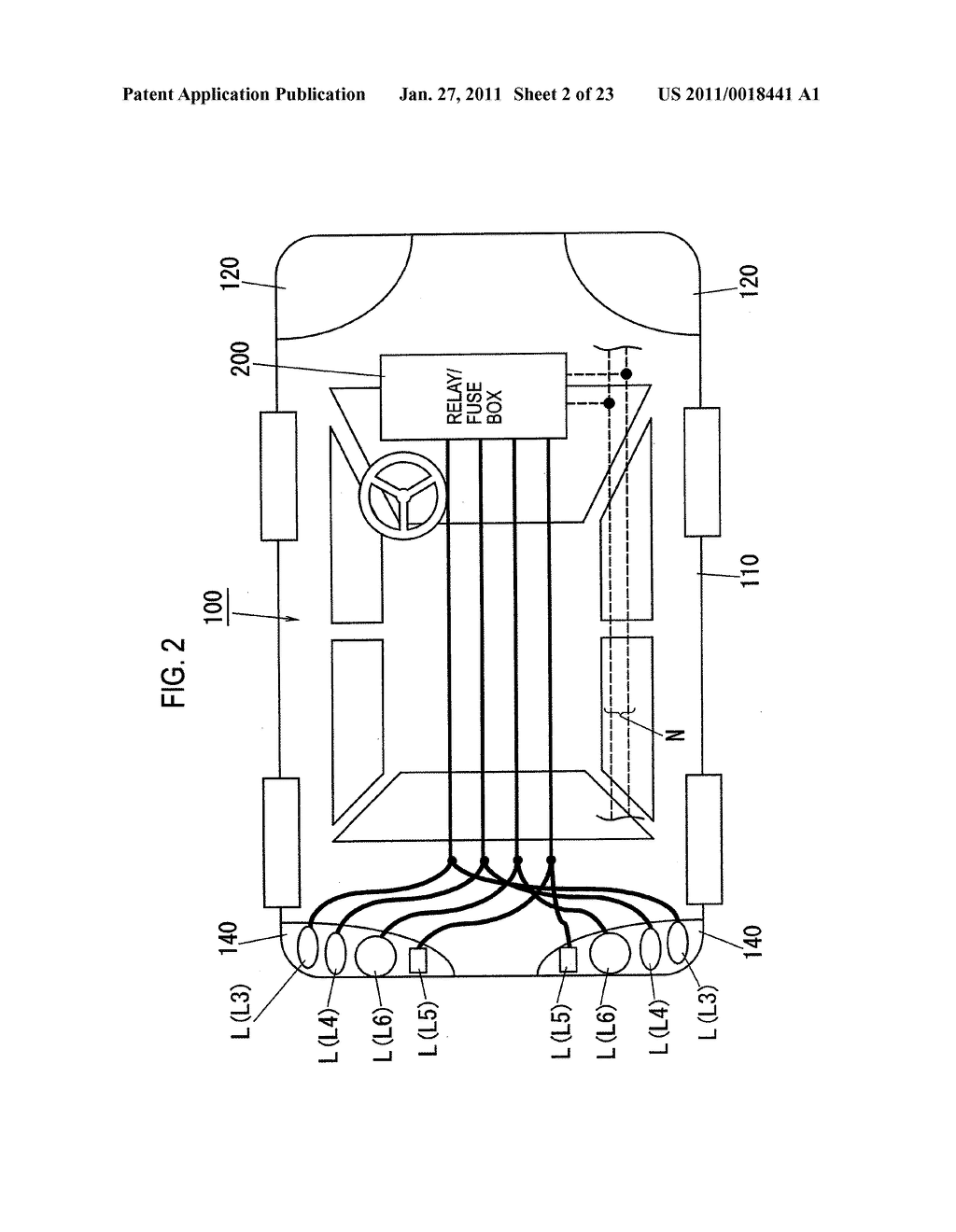 VEHICLE-MOUNTED LOAD CONTROLLER, VEHICLE-MOUNTED HEADLIGHT DEVICE, AND VEHICLE-MOUNTED TAILLIGHT DEVICE - diagram, schematic, and image 03