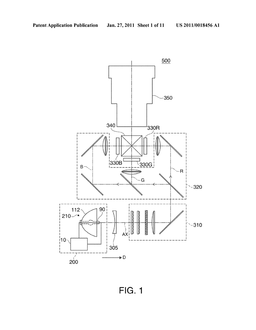 DISCHARGE LAMP LIGHTING DEVICE, PROJECTOR, AND DRIVING METHOD OF DISCHARGE LAMP - diagram, schematic, and image 02