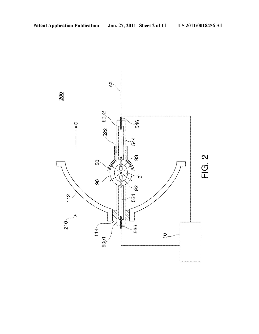 DISCHARGE LAMP LIGHTING DEVICE, PROJECTOR, AND DRIVING METHOD OF DISCHARGE LAMP - diagram, schematic, and image 03