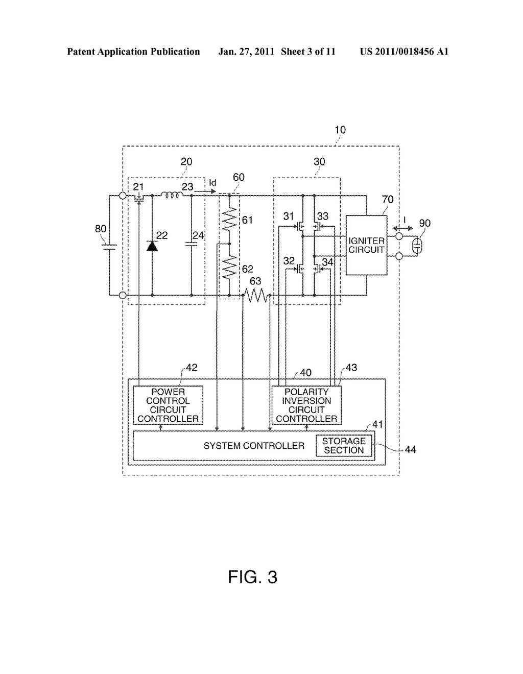 DISCHARGE LAMP LIGHTING DEVICE, PROJECTOR, AND DRIVING METHOD OF DISCHARGE LAMP - diagram, schematic, and image 04