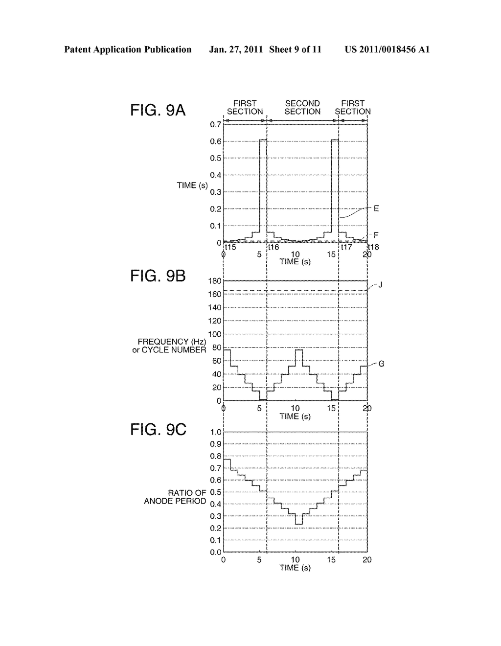 DISCHARGE LAMP LIGHTING DEVICE, PROJECTOR, AND DRIVING METHOD OF DISCHARGE LAMP - diagram, schematic, and image 10