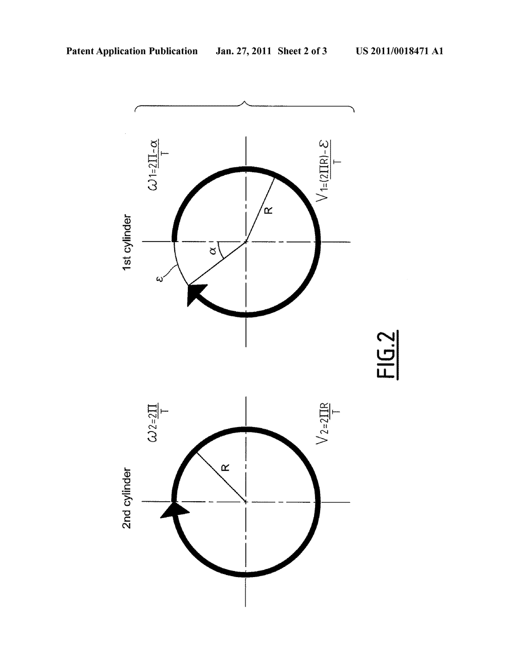 Method for Regulating the Angular Velocity of Printing Cylinders - diagram, schematic, and image 03
