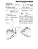 TOUCHPAD-ENABLED REMOTE CONTROLLER AND USER INTERACTION METHODS diagram and image
