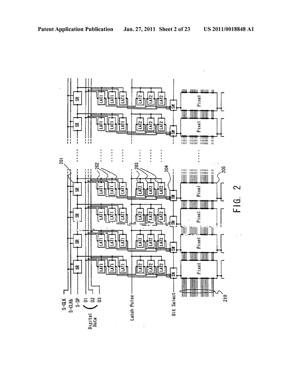 Liquid Crystal Display Device and Method of Driving the Same - diagram, schematic, and image 03