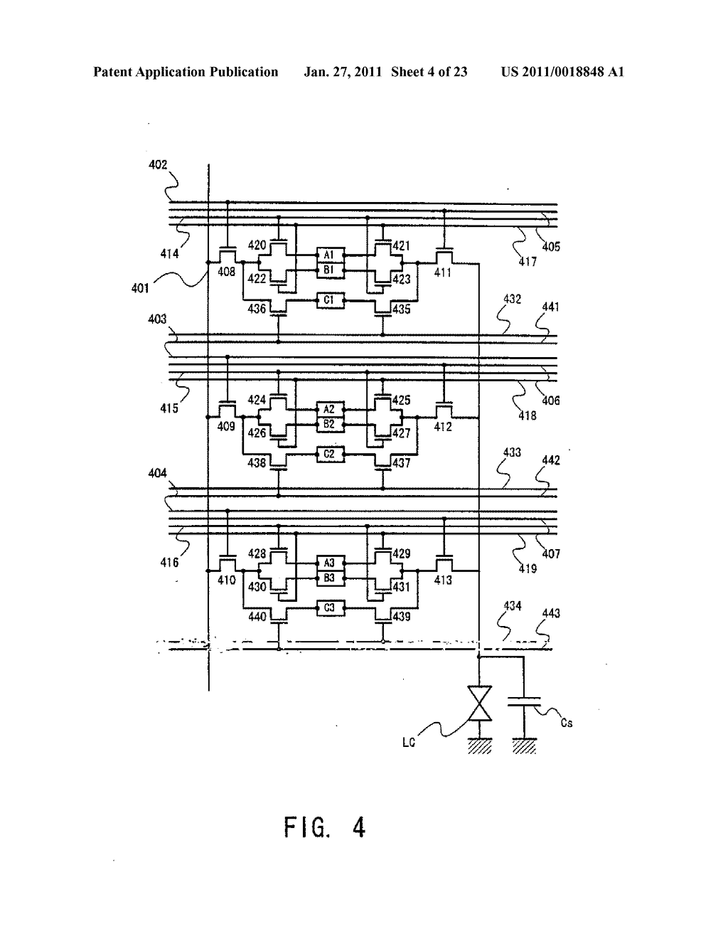 Liquid Crystal Display Device and Method of Driving the Same - diagram, schematic, and image 05