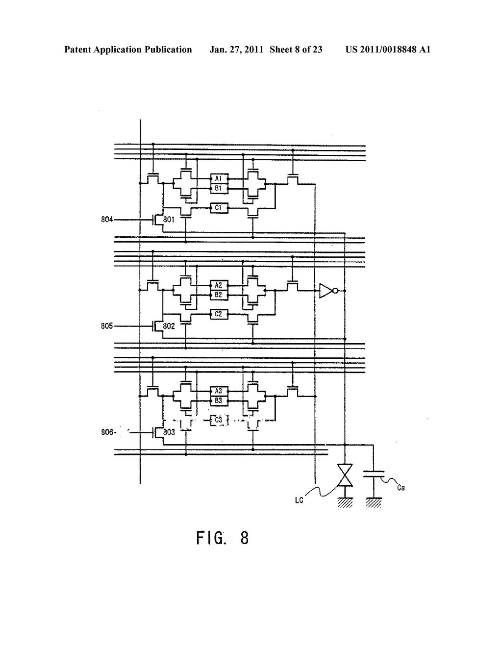 Liquid Crystal Display Device and Method of Driving the Same - diagram, schematic, and image 09
