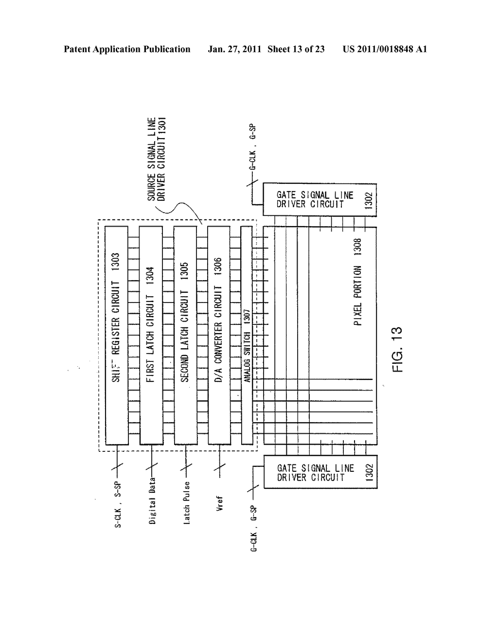 Liquid Crystal Display Device and Method of Driving the Same - diagram, schematic, and image 14