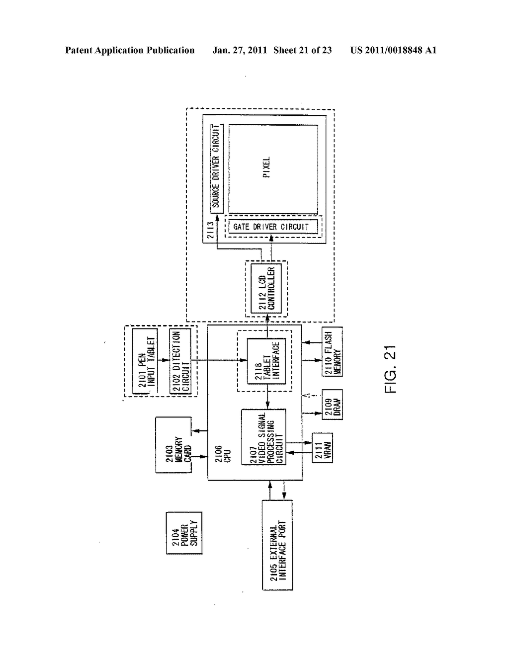 Liquid Crystal Display Device and Method of Driving the Same - diagram, schematic, and image 22