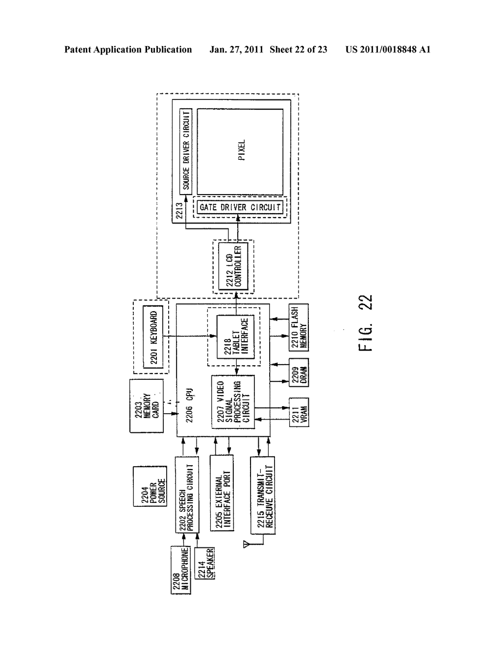 Liquid Crystal Display Device and Method of Driving the Same - diagram, schematic, and image 23