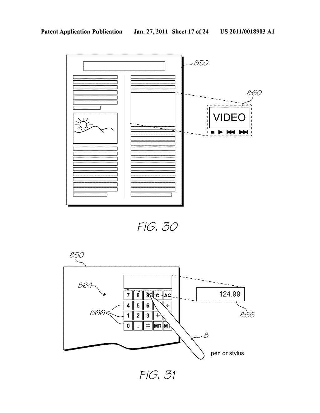 AUGMENTED REALITY DEVICE FOR PRESENTING VIRTUAL IMAGERY REGISTERED TO A VIEWED SURFACE - diagram, schematic, and image 18