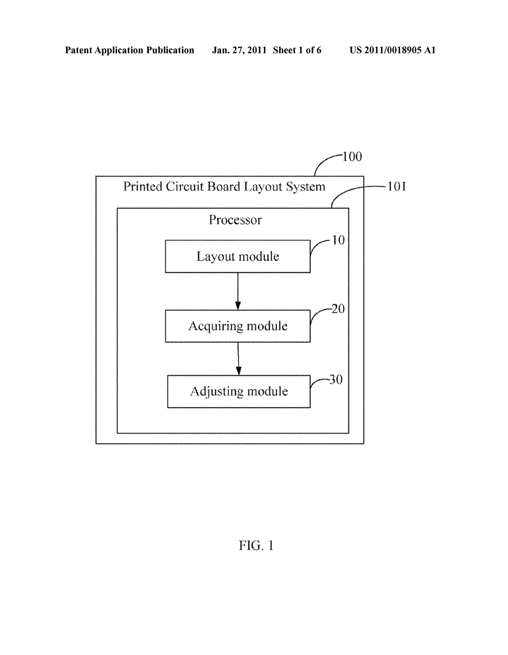 PRINTED CIRCUIT BOARD LAYOUT SYSTEM AND METHOD FOR ADJUSTING CHARACTER ORIENTATION THEREOF - diagram, schematic, and image 02