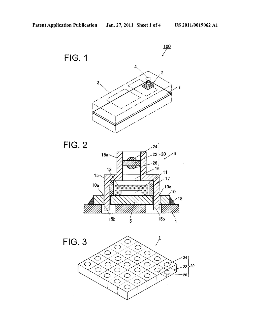 Optical Element Assembly, Image Pickup Module, and Method for Manufacturing Electronic Apparatus - diagram, schematic, and image 02