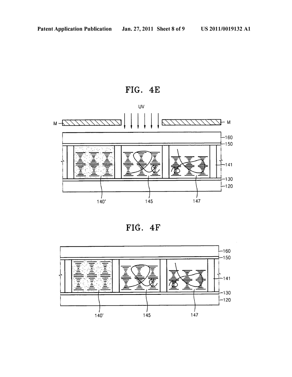 Cholesteric liquid crystal display devices and methods of manufacturing the same - diagram, schematic, and image 09