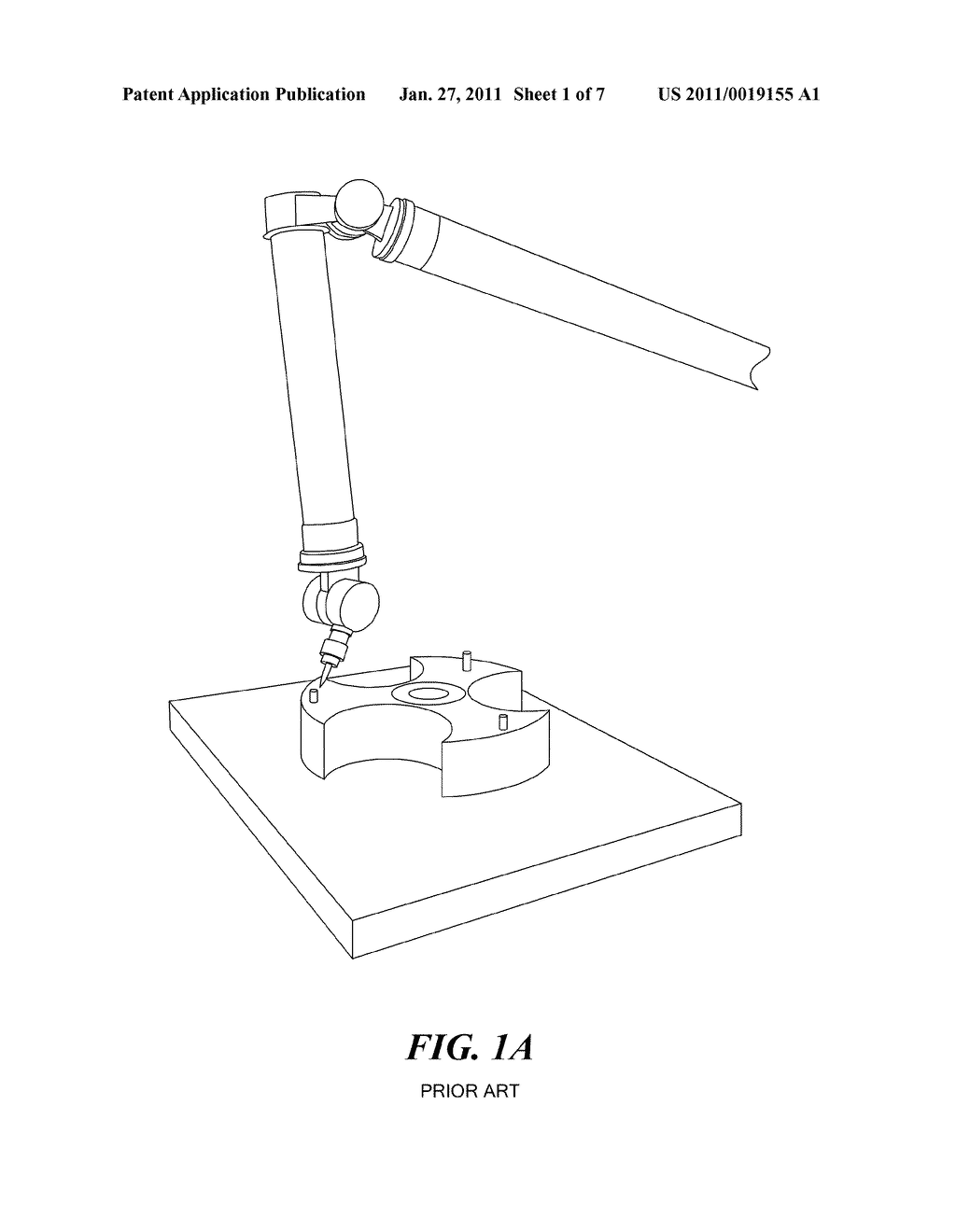 Method and Apparatus for Real-Time Projection onto an Object of Data Obtained from 3-D Measurement - diagram, schematic, and image 02