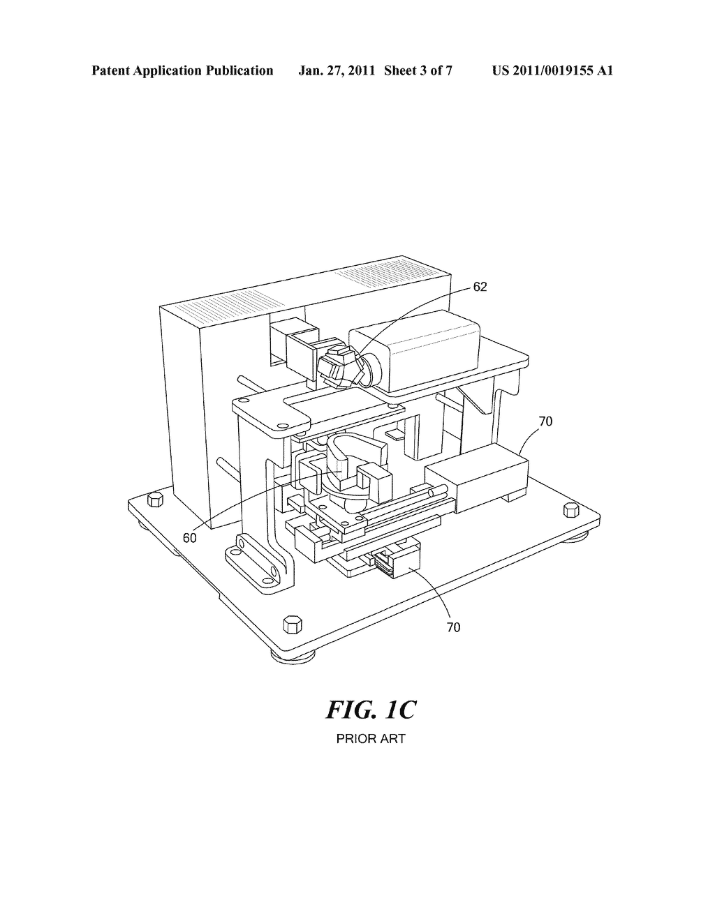 Method and Apparatus for Real-Time Projection onto an Object of Data Obtained from 3-D Measurement - diagram, schematic, and image 04