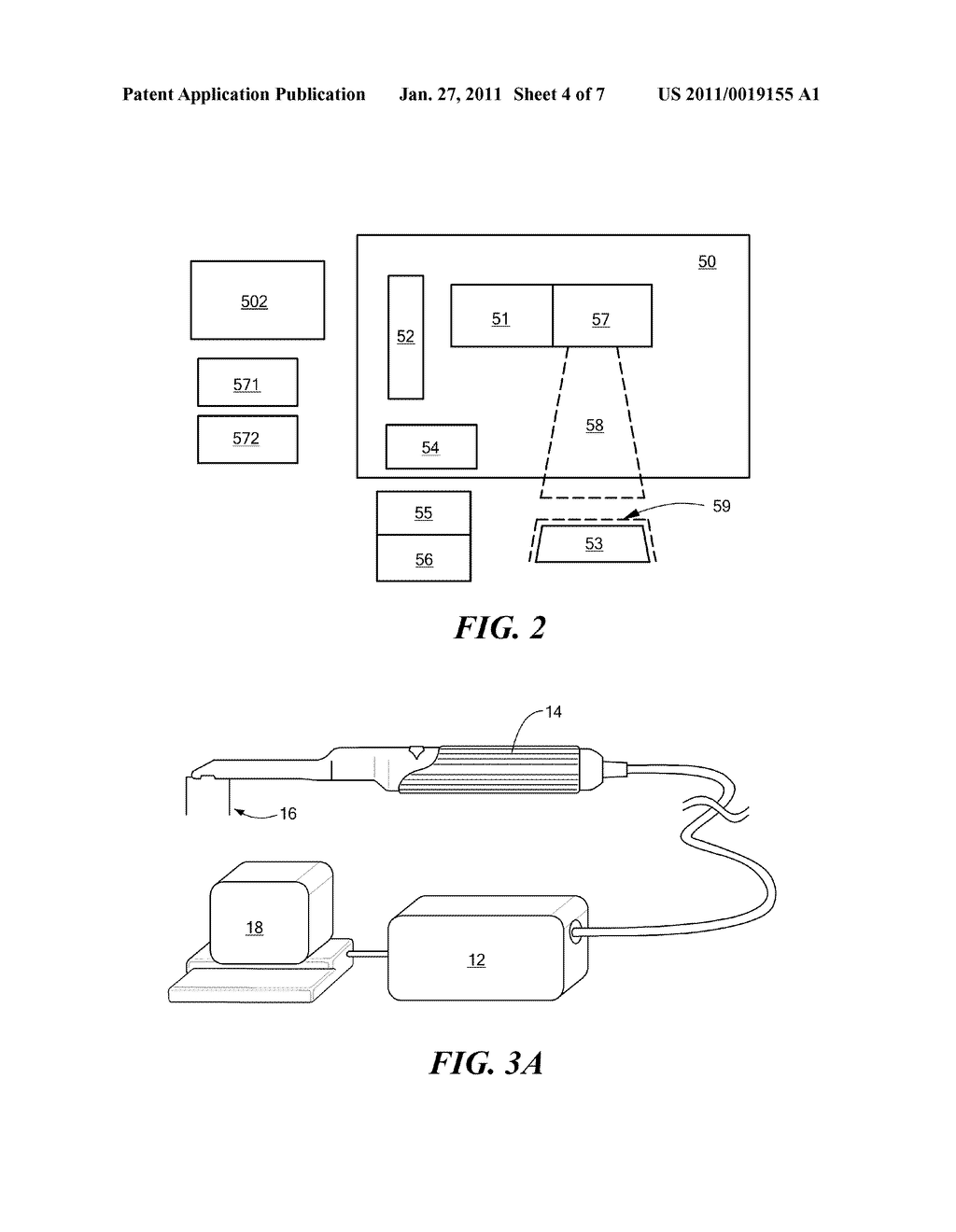 Method and Apparatus for Real-Time Projection onto an Object of Data Obtained from 3-D Measurement - diagram, schematic, and image 05