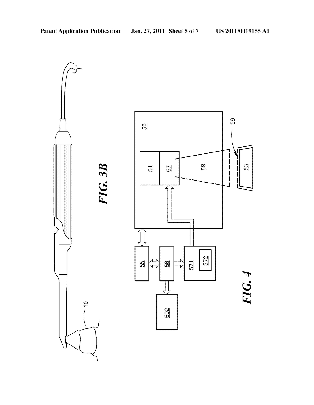 Method and Apparatus for Real-Time Projection onto an Object of Data Obtained from 3-D Measurement - diagram, schematic, and image 06