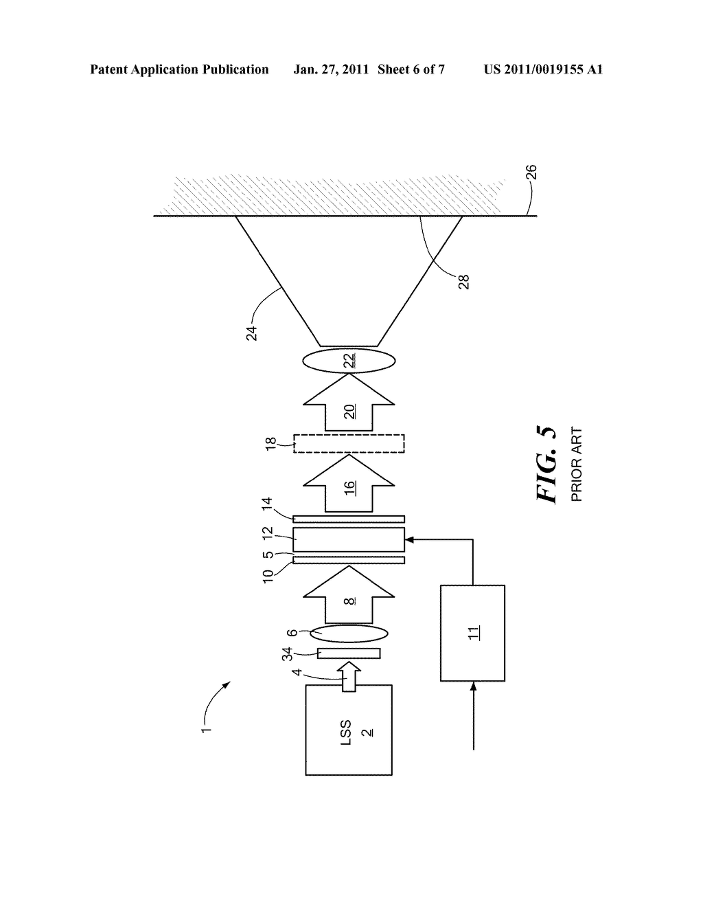 Method and Apparatus for Real-Time Projection onto an Object of Data Obtained from 3-D Measurement - diagram, schematic, and image 07