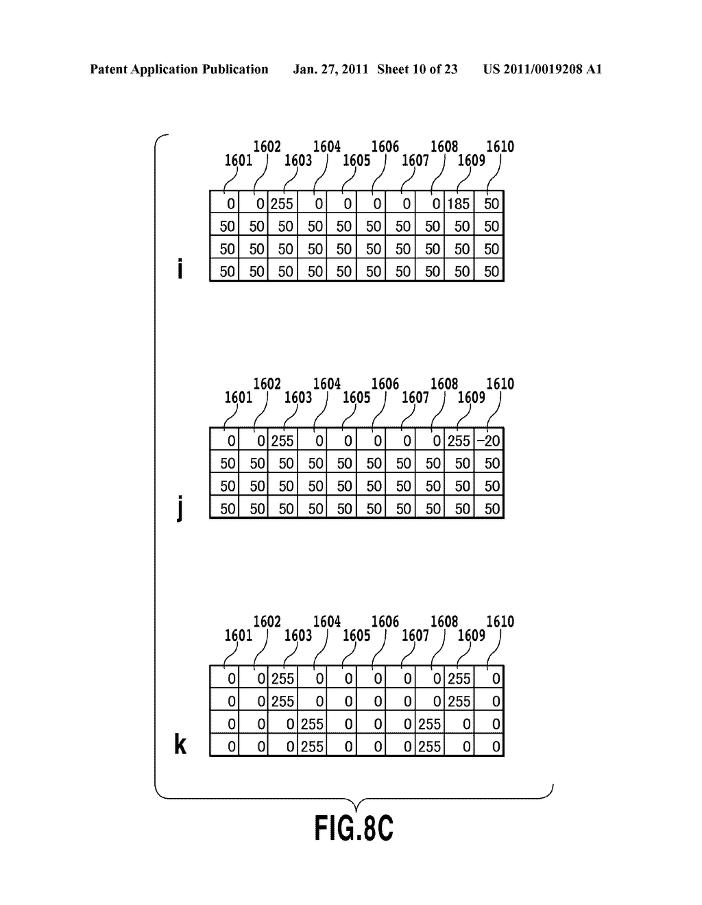 IMAGE DATA GENERATING APPARATUS, PRINTING APPARATUS, AND IMAGE DATA GENERATION METHOD - diagram, schematic, and image 11
