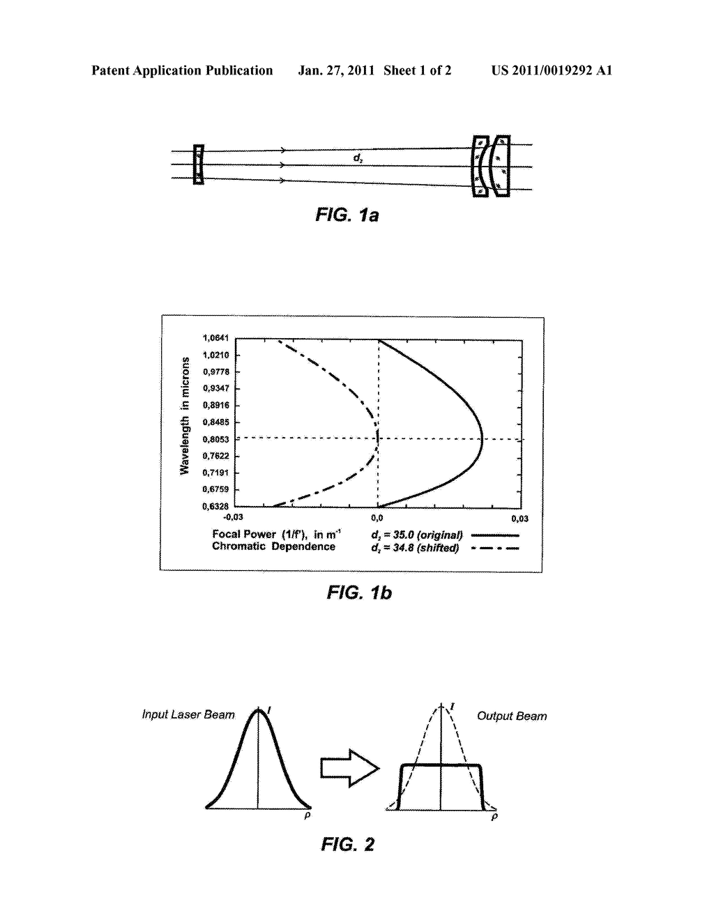 Achromatic Optical System for Beam Shaping - diagram, schematic, and image 02