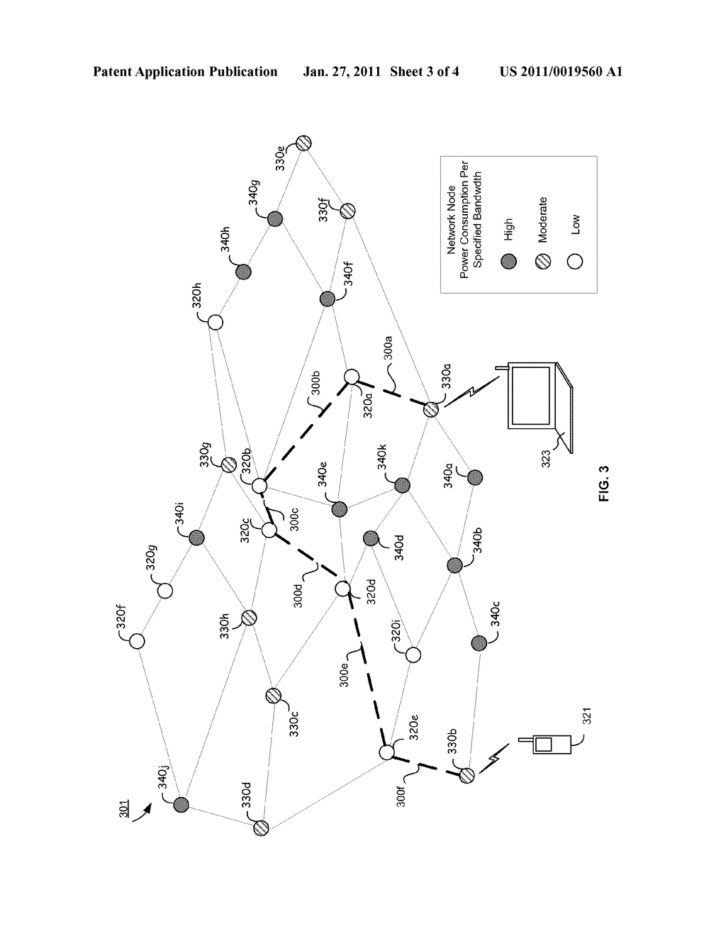 Method And System For Power-Limited Switching And/Or Routing In A Network - diagram, schematic, and image 04