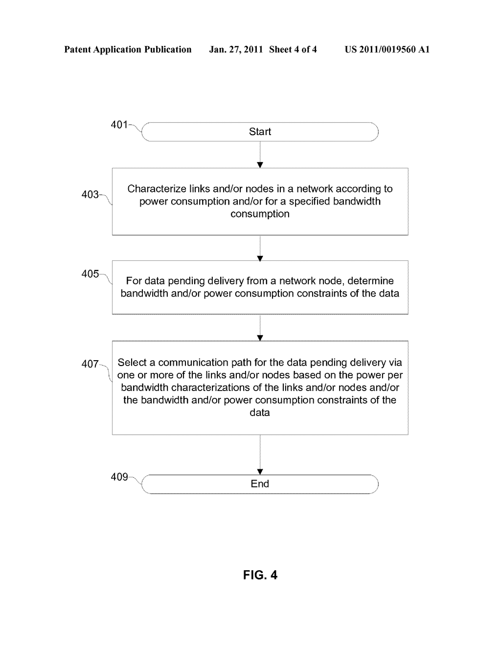 Method And System For Power-Limited Switching And/Or Routing In A Network - diagram, schematic, and image 05