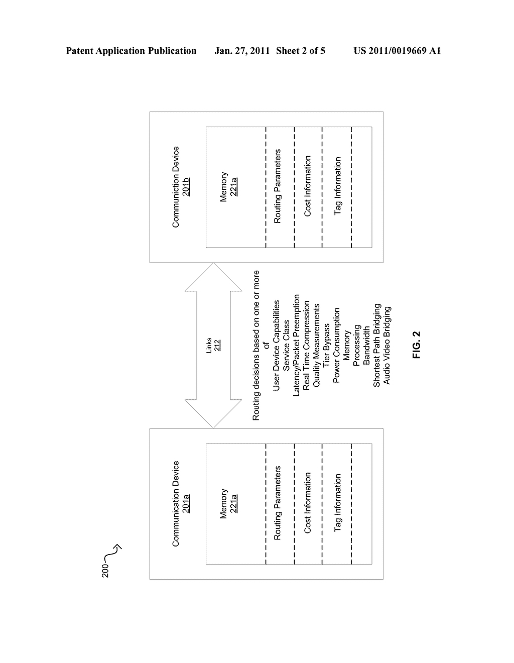 Method And System For Dynamic Routing And/Or Switching In A Network - diagram, schematic, and image 03