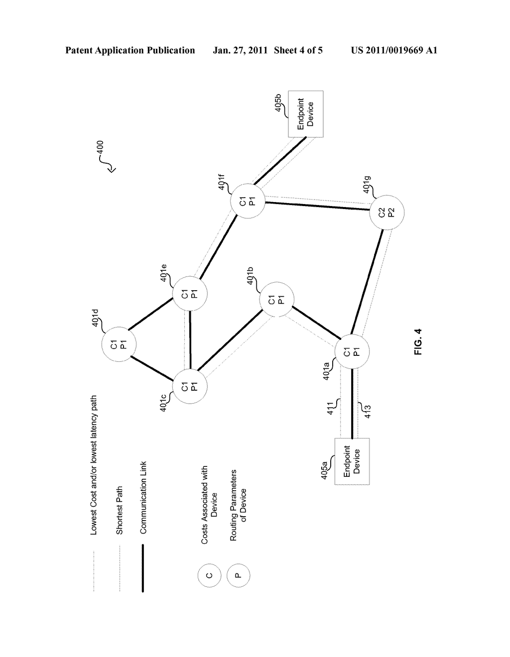Method And System For Dynamic Routing And/Or Switching In A Network - diagram, schematic, and image 05