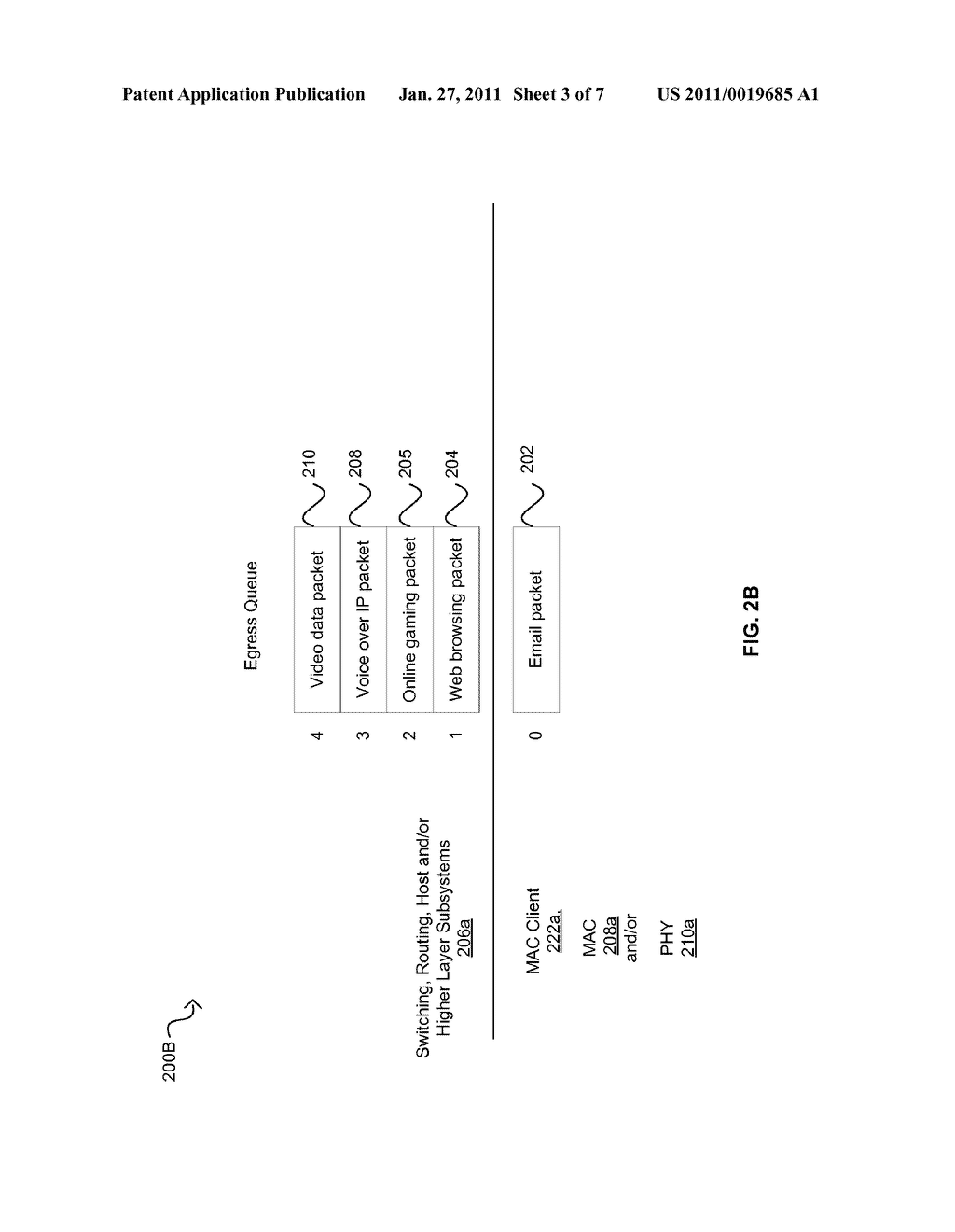 METHOD AND SYSTEM FOR PACKET PREEMPTION FOR LOW LATENCY - diagram, schematic, and image 04