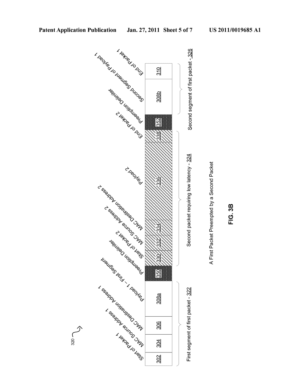 METHOD AND SYSTEM FOR PACKET PREEMPTION FOR LOW LATENCY - diagram, schematic, and image 06