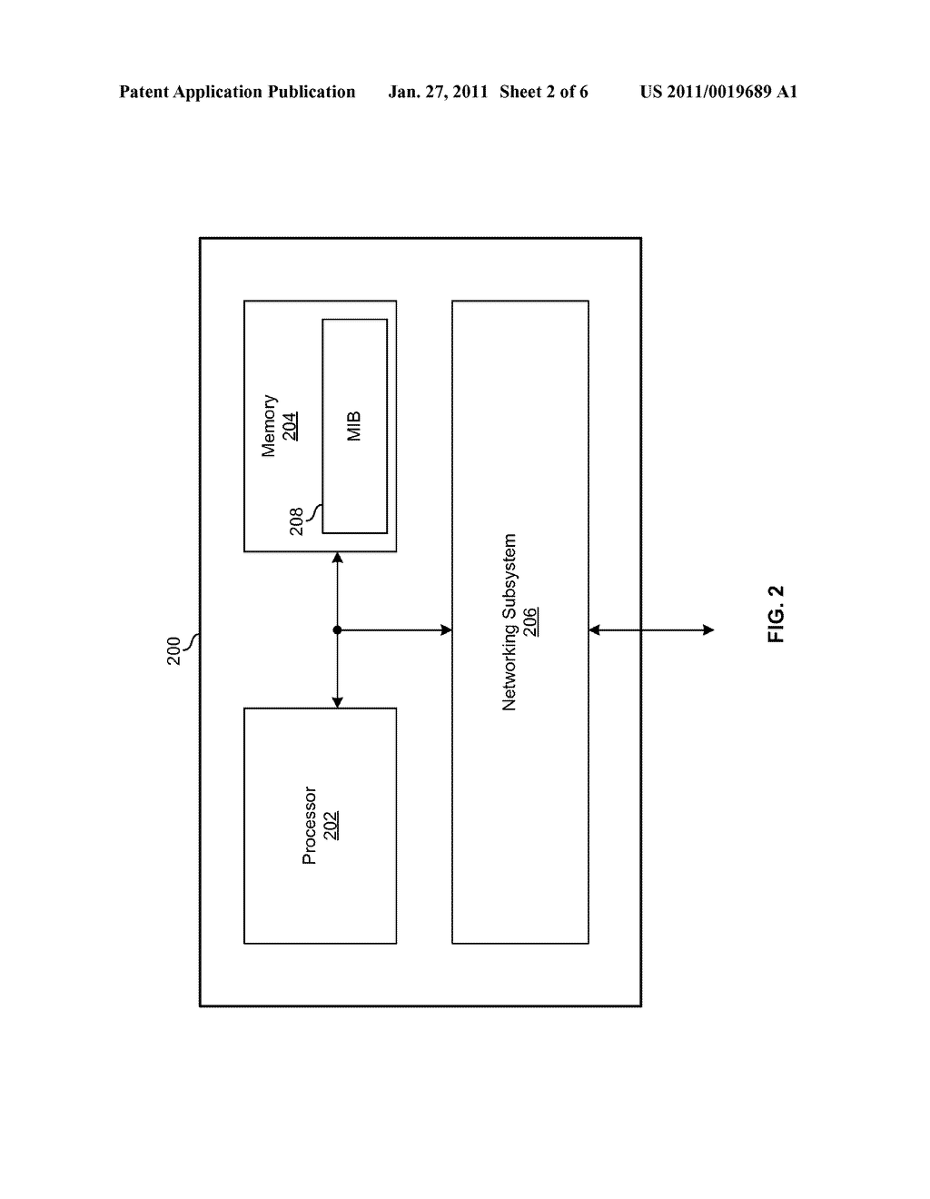 Method And System For Associating Physical Link Partners Using A Layer Two Mechanism - diagram, schematic, and image 03