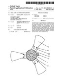 AXIAL FLOW FAN FOR EXTERNAL ROTOR diagram and image