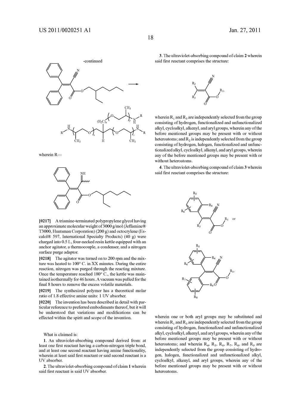 Ultraviolet-Absorbing Compounds - diagram, schematic, and image 19