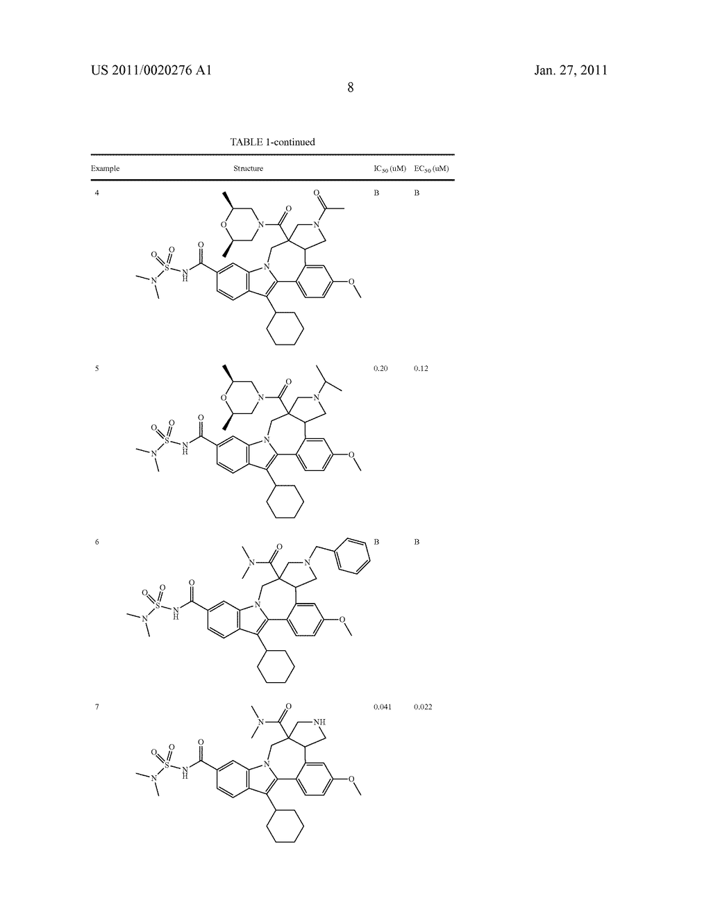Pyrrolidine Fused Indolobenzadiazepine HCV NS5B Inhibitors - diagram, schematic, and image 09