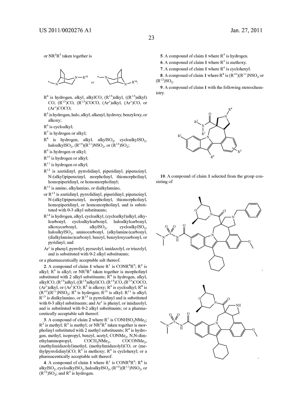 Pyrrolidine Fused Indolobenzadiazepine HCV NS5B Inhibitors - diagram, schematic, and image 24