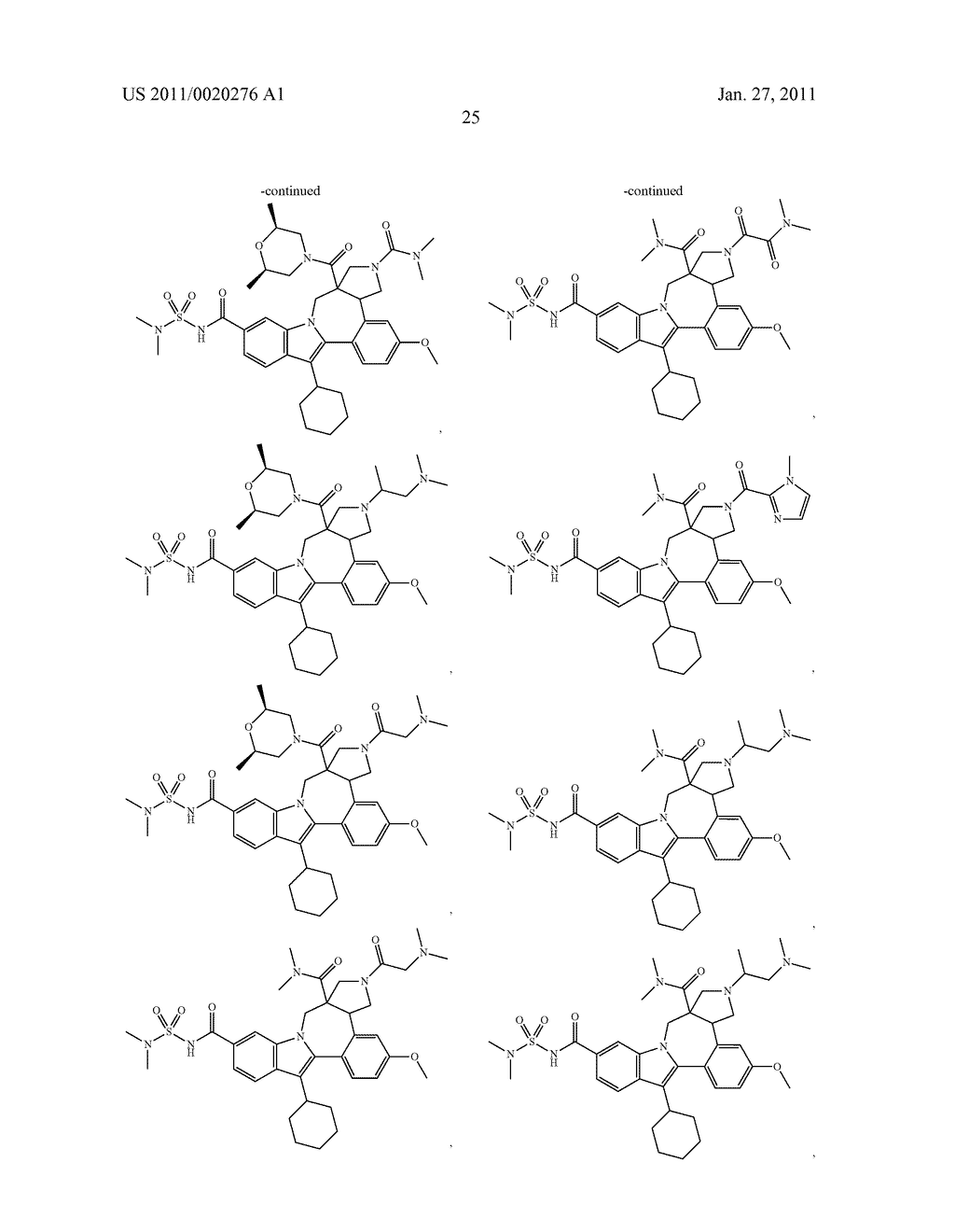 Pyrrolidine Fused Indolobenzadiazepine HCV NS5B Inhibitors - diagram, schematic, and image 26