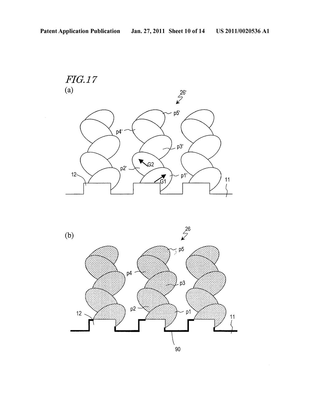 ELECTRODE FOR LITHIUM SECONDARY BATTERY AND METHOD OF MANUFACTURING SAME - diagram, schematic, and image 11