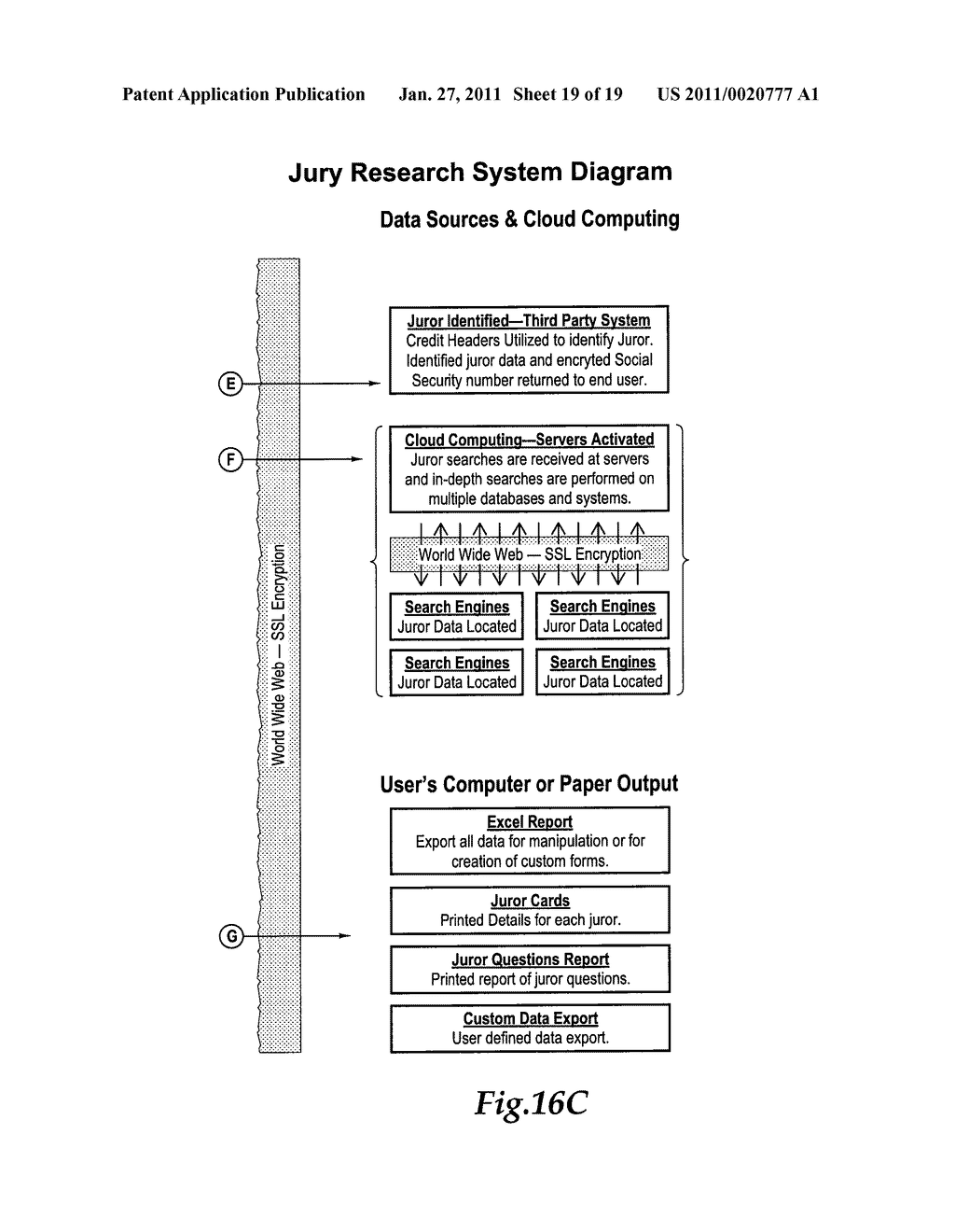 JURY RESEARCH SYSTEM - diagram, schematic, and image 20