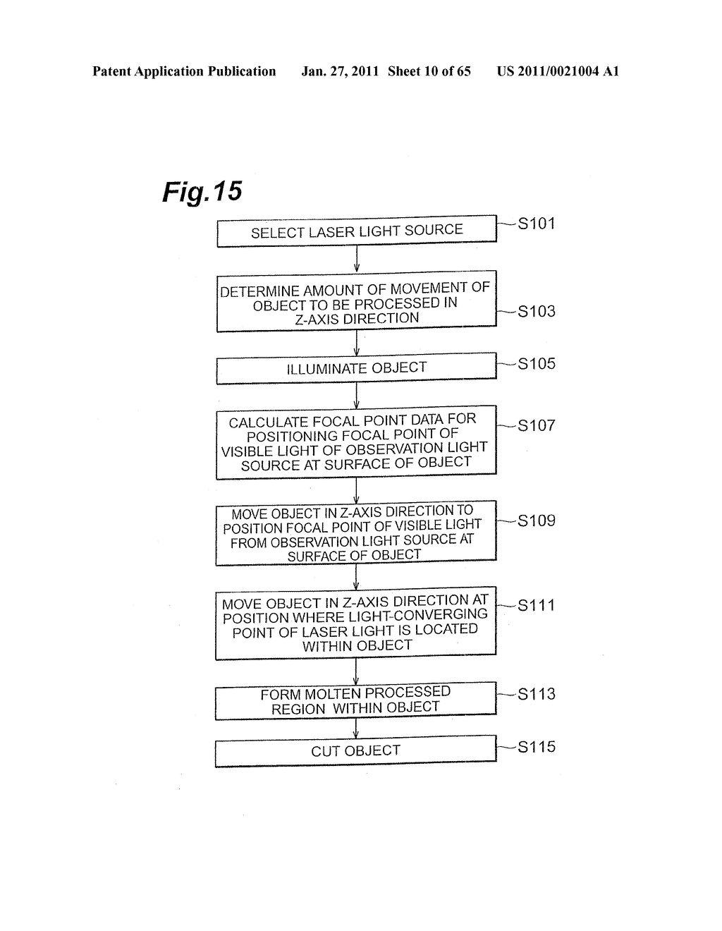 METHOD OF CUTTING A SUBSTRATE, METHOD OF CUTTING A WAFER-LIKE OBJECT, AND METHOD OF MANUFACTURING A SEMICONDUCTOR DEVICE - diagram, schematic, and image 11