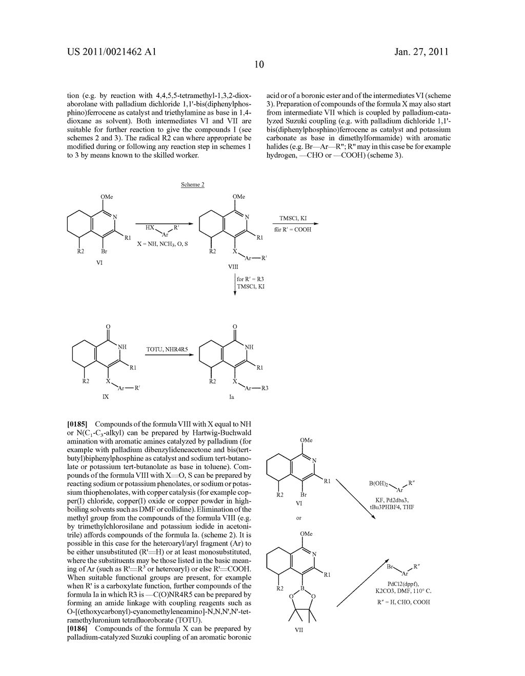 SUBSTITUTED TETRAHYDRO-2H-ISOQUINOLIN-1-ONE DERIVATIVES, AND METHODS FOR THE PRODUCTION AND USE THEREOF - diagram, schematic, and image 11