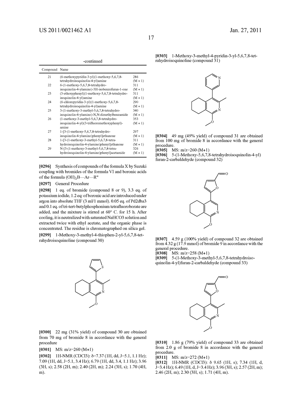 SUBSTITUTED TETRAHYDRO-2H-ISOQUINOLIN-1-ONE DERIVATIVES, AND METHODS FOR THE PRODUCTION AND USE THEREOF - diagram, schematic, and image 18