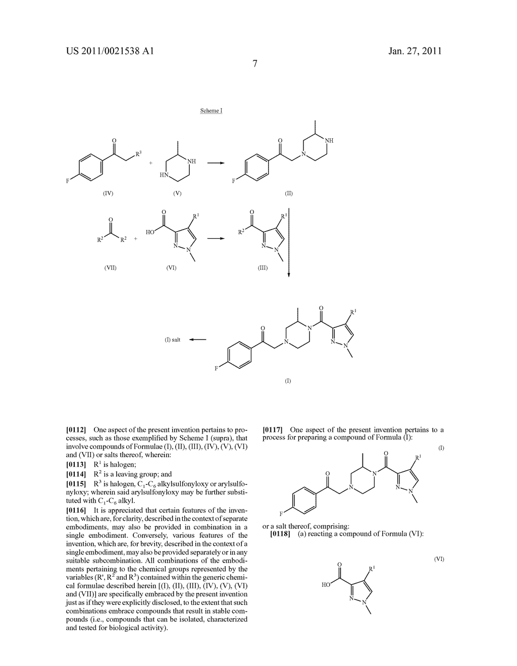 PROCESSES FOR THE PREPARATION OF PYRAZOLE DERIVATIVES USEFUL AS MODULATORS OF THE 5-HT2A SEROTONIN RECEPTOR - diagram, schematic, and image 08