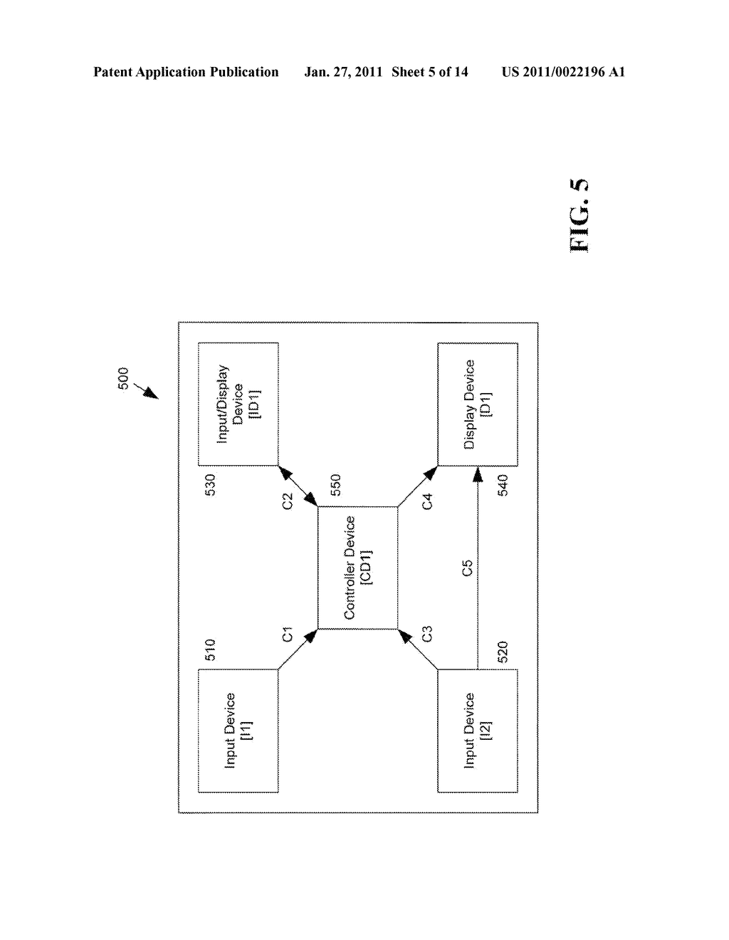 METHOD AND APPARATUS FOR DISTRIBUTED USER INTERFACES USING WEARABLE DEVICES TO CONTROL MOBILE AND CONSUMER ELECTRONIC DEVICES - diagram, schematic, and image 06