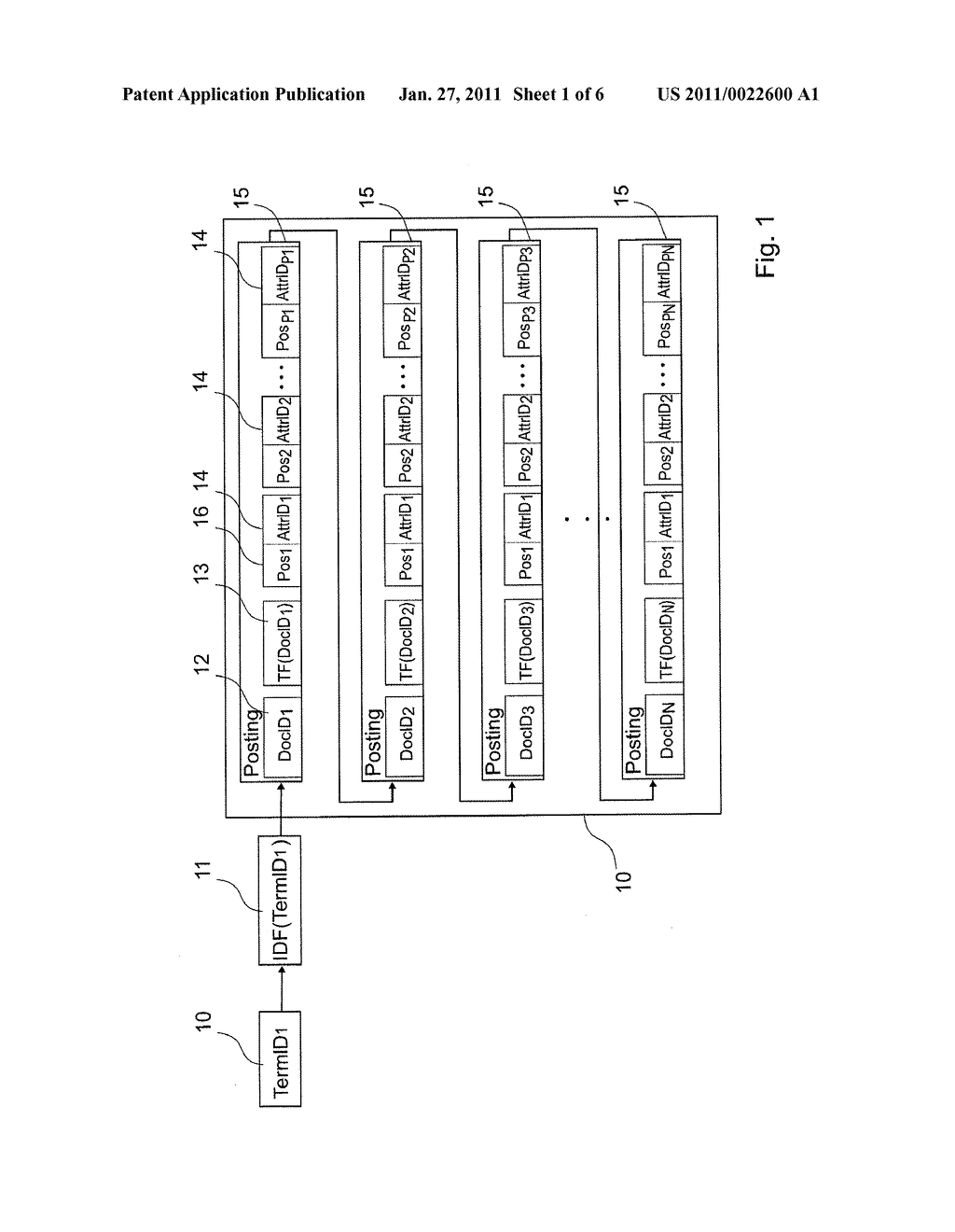 METHOD OF DATA RETRIEVAL, AND SEARCH ENGINE USING SUCH A METHOD - diagram, schematic, and image 02
