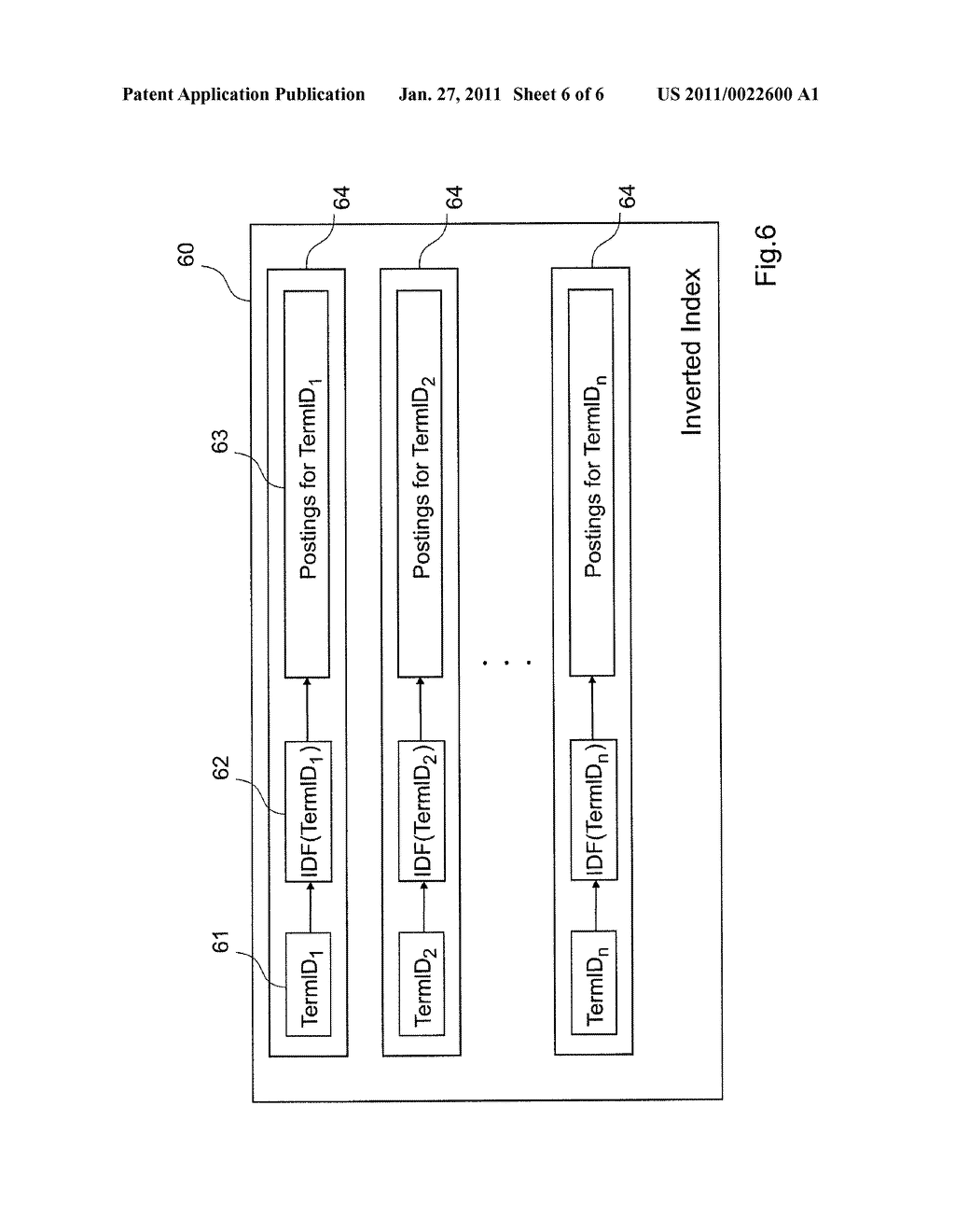 METHOD OF DATA RETRIEVAL, AND SEARCH ENGINE USING SUCH A METHOD - diagram, schematic, and image 07