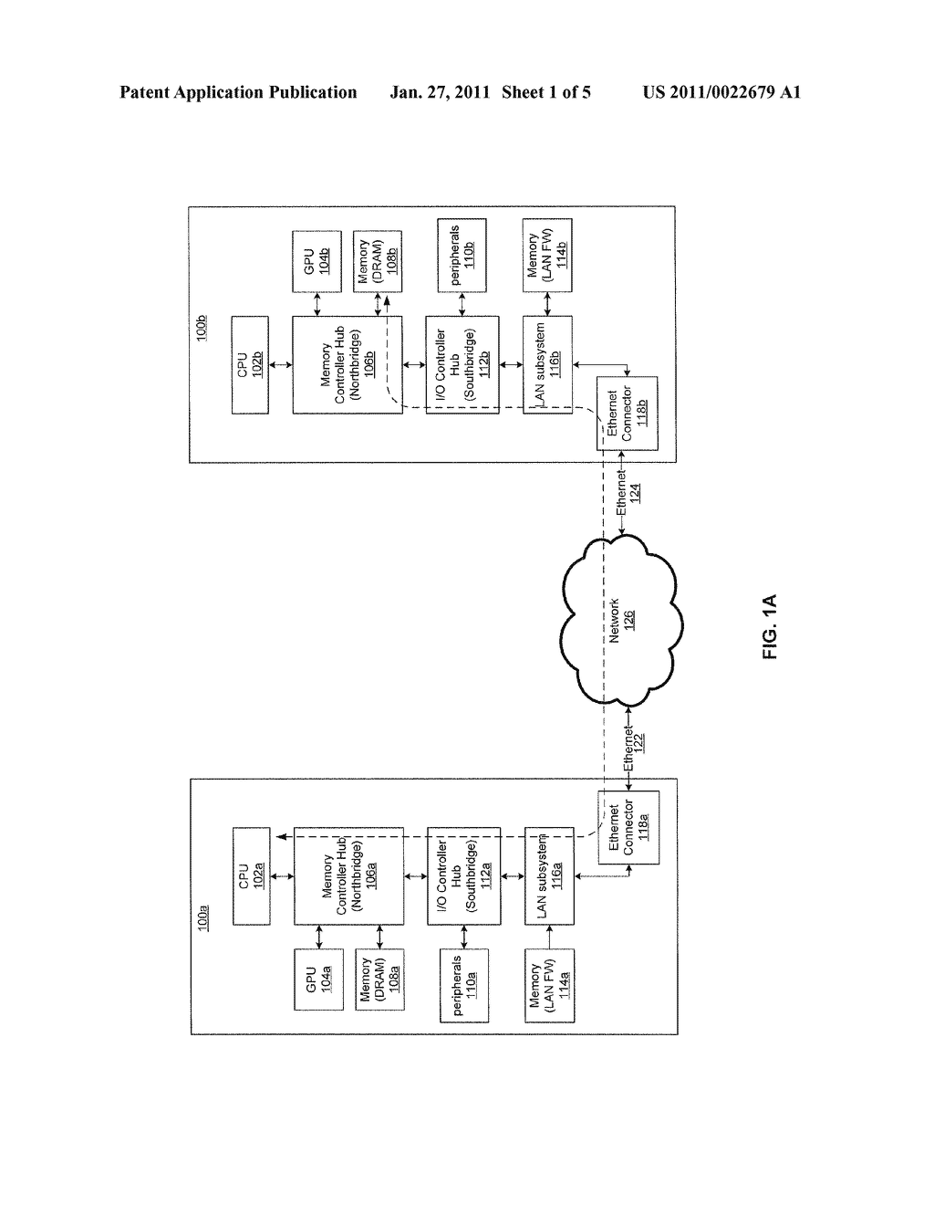 METHOD AND SYSTEM FOR UTILIZING NATIVE ETHERNET AS A VIRTUAL MEMORY INTERCONNECT - diagram, schematic, and image 02